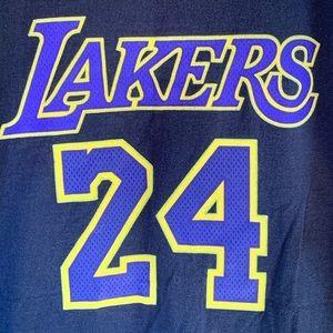 Adidas Kobe Bryant Los Angeles Lakers Jersey Shirt